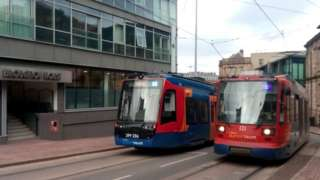 Stagecoach Supertram in Sheffield