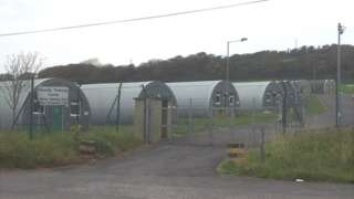 There are plans to house asylum seekers at a military training camp in Pembrokeshire
