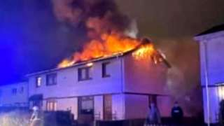 Motherwell house fire