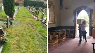 TikTok videos of Nottingham Road Cemetery