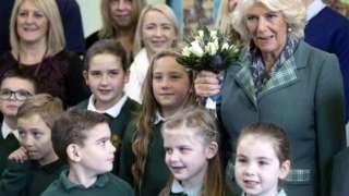 Camilla at Crathie Primary