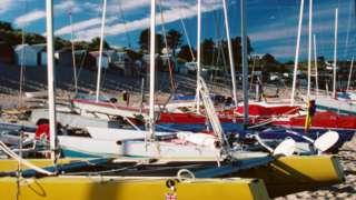 Abersoch boats