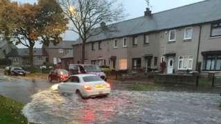flooding - Mastrick Drive