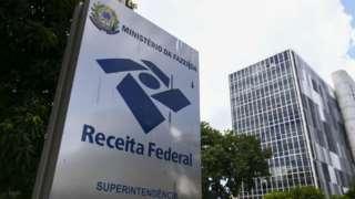 Totem da Receita Federal