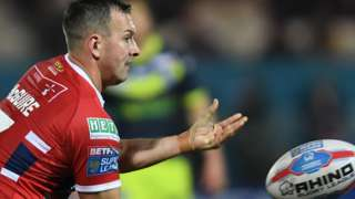 Danny McGuire in action for Hull KR