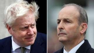 Boris Johnson spoke to Micheál Martin by phone on Friday