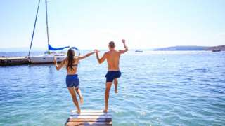 море, пара, курорт, туризм