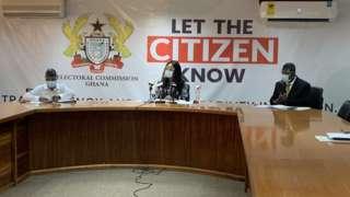Ghana voter registration exercise