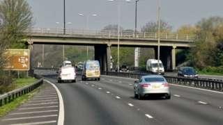 Datchet Road bridge over the M4