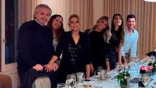 Familia presidencial argentina