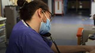 Royal Glamorgan hospital in January