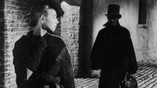 """Escena de la película """"Jack The Ripper"""", 1959"""