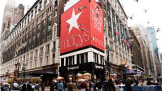 Macy's famous Herald Square store
