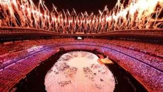 Токио Олимпиадасининг тантанали расмий очилиш маросими