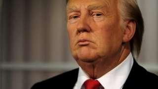 Це - воскова фігура Трампа з іншого музею, Мадам Тюссо у Вашингтоні