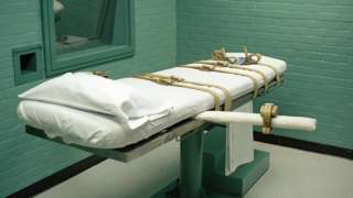Death chamber for executions in Texas