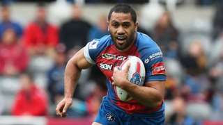Bill Tupou of Wakefield Trinity