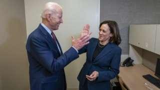 Joe Biden ve Kamala Harris