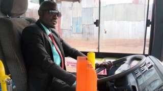 Ufitinema ubu ni umushoferi mu modoka za Kigali Bus Service