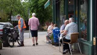 Penarth pavement cafe