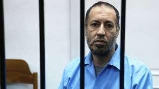 Саади Каддафи в суде