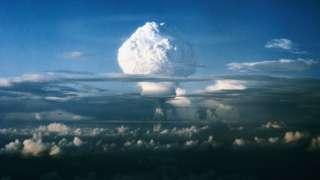 Испытания ядерной бомбы в США. 1951 год