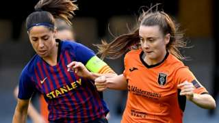 Barcelona v Glasgow City