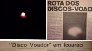 """Ovni e reportagens sobre """"discos voadores"""" no Pará nos anos 1970"""