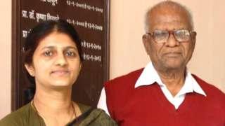 डॉ मेघा पानसरे, गोविंद पानसरे