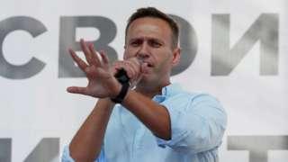 File pic Alexei Navalny