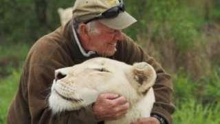 West Mathewson with Lion