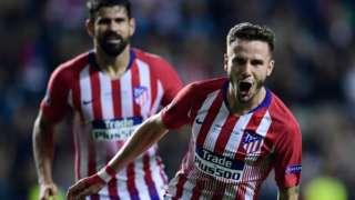 Atletico Madrid's Saul
