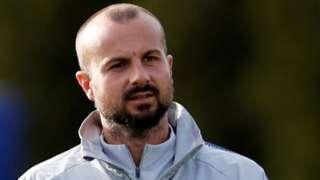 Chelsea coach Marco Ianni