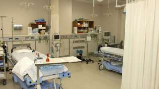 File photo of hospital room