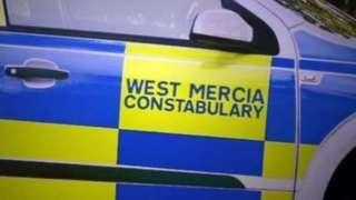 Police car door