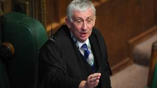 Commons Speaker Lindsay Hoyle