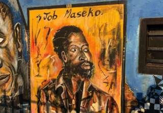 Mchoro wa kumkumbuka Jacob Maseko nyumbani kwao Spring