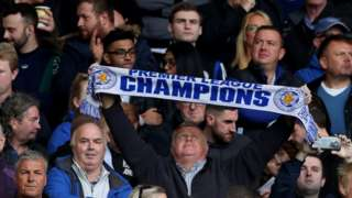 Leicester City fans