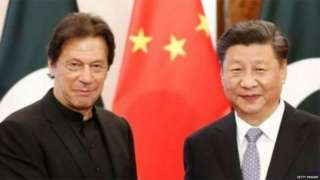 चीन पर इमरान ख़ान