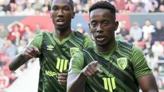 Bournemouth celebrate goal