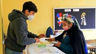 Votación en Chile
