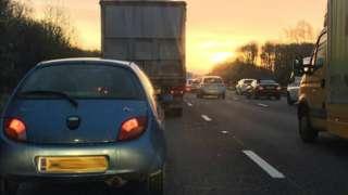 M3 stationary traffic