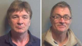 John Blight and Nigel Ingram will serve time in jail