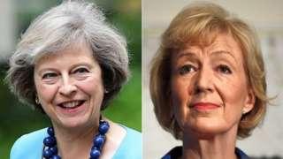 Theresa May, Andrea Leadsom