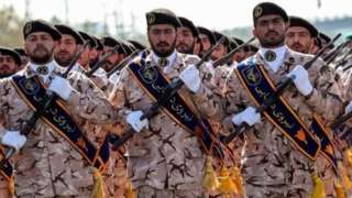 نیروهای سپاه پاسداران
