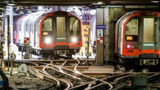 Waterloo and City Line trains
