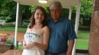 Becca Martin and dad Steve
