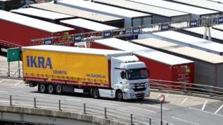 Truck at Dover