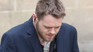Richard Elmes pictured at Winchester Crown Court