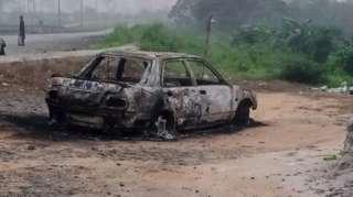 """Rivers State news"": [Gunmen attack Police officer ""murder"" near Port Harcourt airport]"